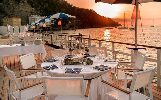 Romantic Restaurants in Sorrento  Sorrento