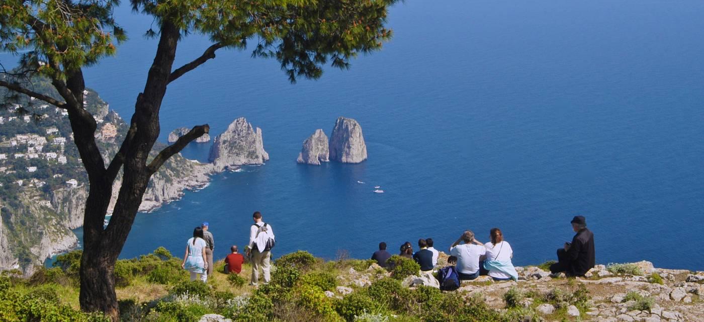 Capri Italy  Mount Solaro  Info  Photos