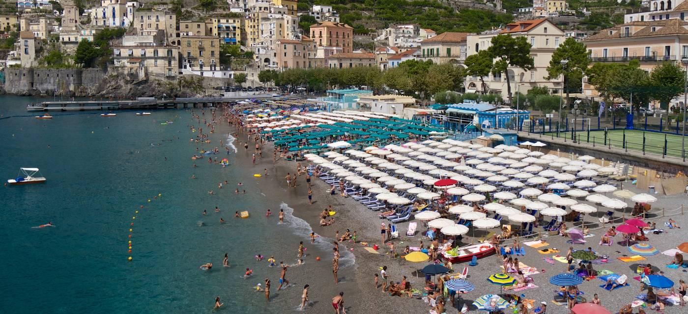 Le spiagge di Maiori e Minori  Costiera Amalfitana