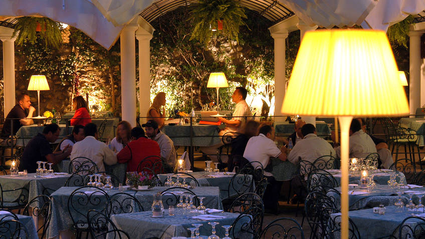 Restaurant Villa Verde on Capri  Menu and Dishes