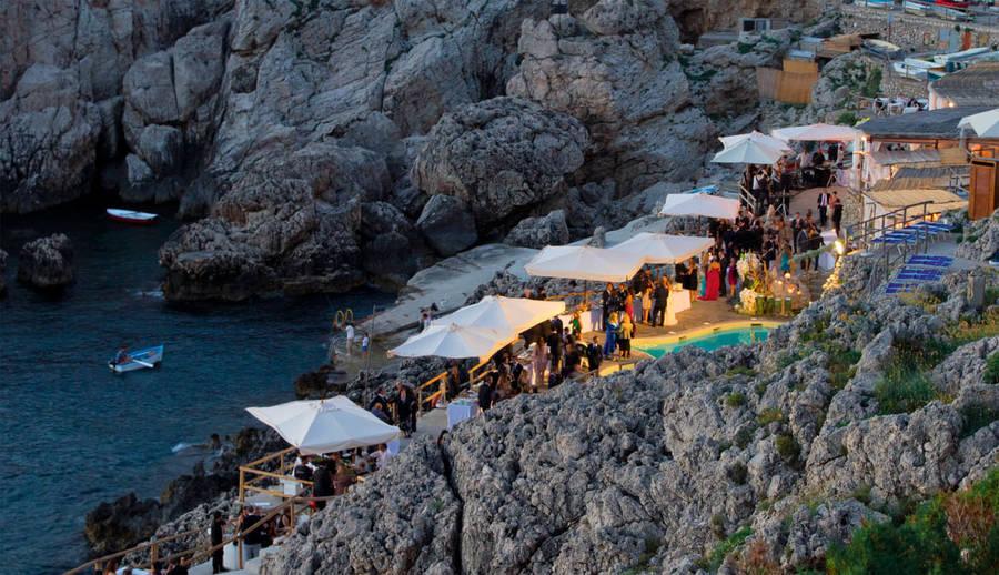 Restaurant Lido del Faro on Capri Taste the sea savor