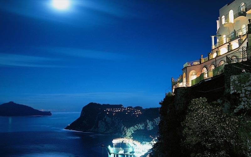 Restaurant La Terrazza di Lucullo on Capri  Info and Photos When restaurants have wow factor