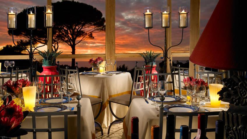 Restaurant La Terrazza di Lucullo on Capri When restaurants have wow factor