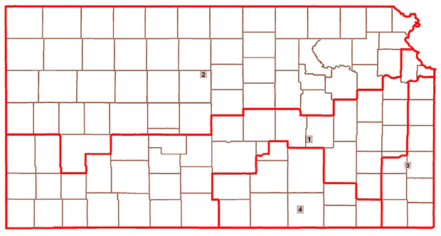 Kansas Redistricting Map - Proposal Two