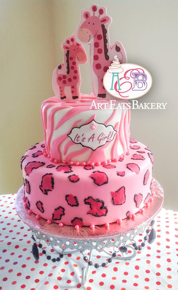 Art Eats Bakery custom fondant wedding and birthday cake designs pictures and recipes Animal