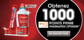B ColgateOpticWhite 1000ptsofferPF.Format - Pharmaprix: Plusieurs offres pour multiplier vos points Optium