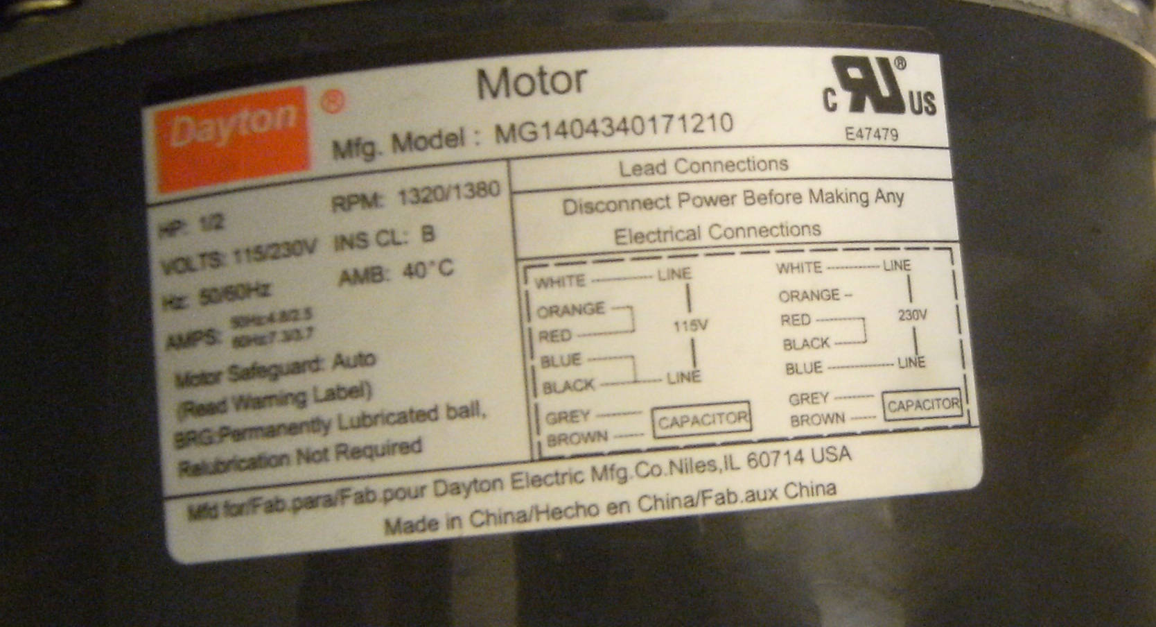 Electric Motor Wiring Diagram View Diagram Dayton Motor Wiring Diagram