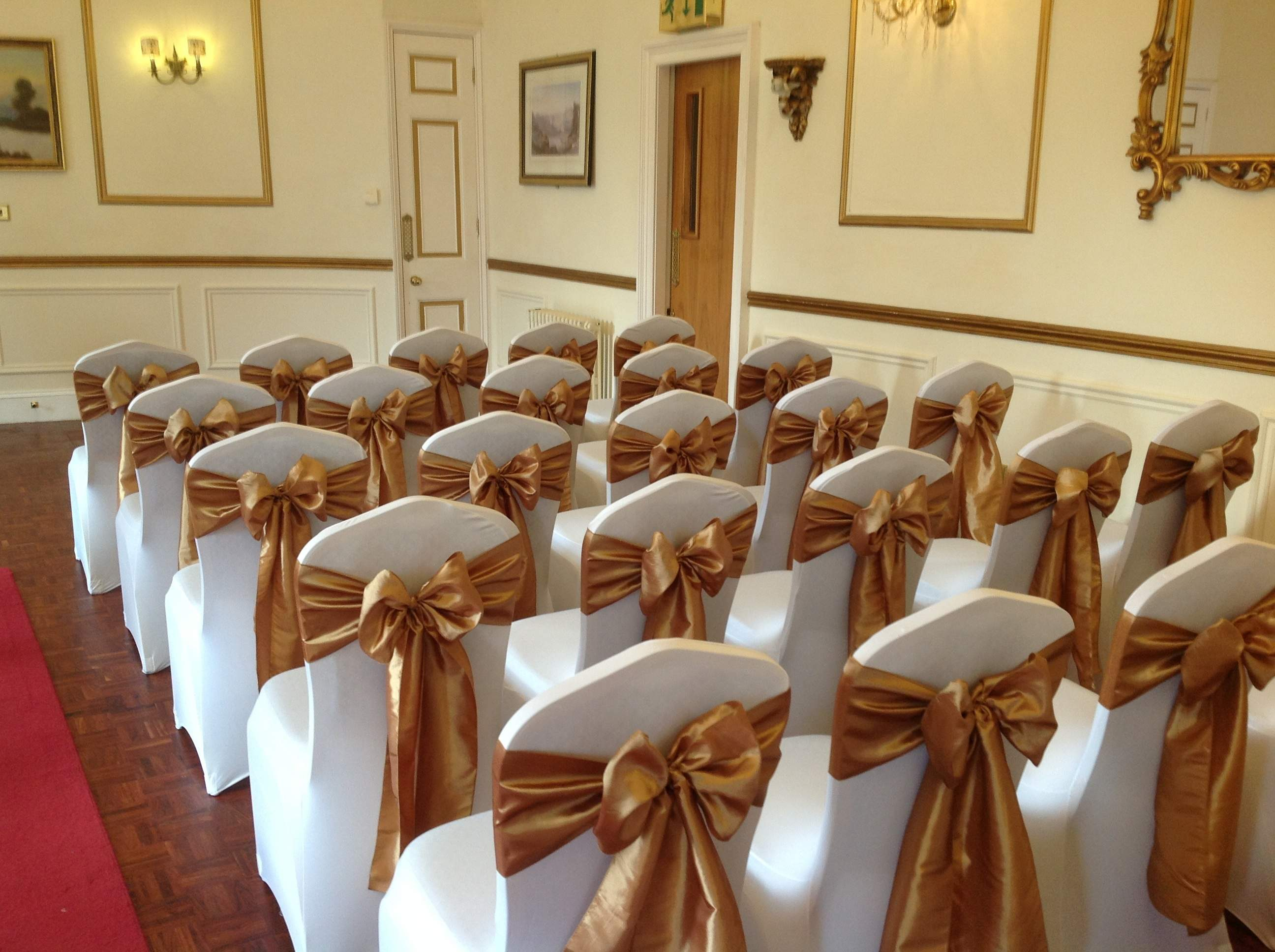chair covers and sashes to hire ergonomic thoracic support sash