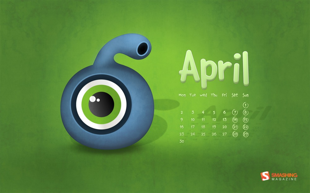 April Calendar 2012