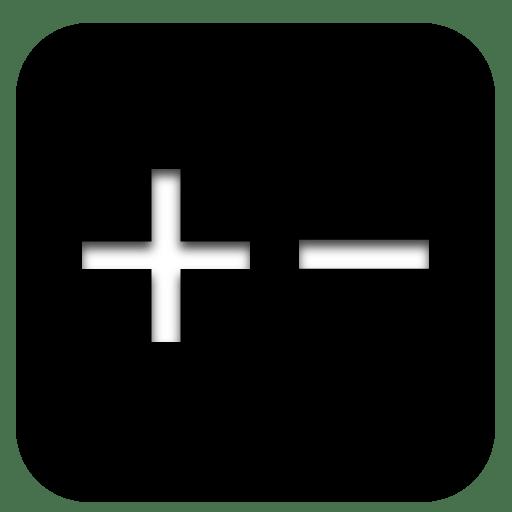 app calculator icon black