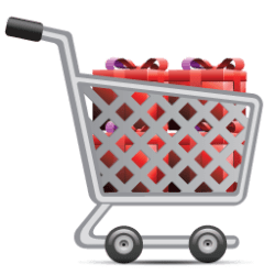 cart shopping icon icons softicons file