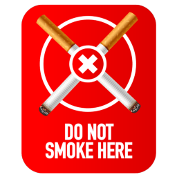 do not smoke here