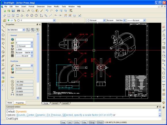 DraftSight- AutoCAD mais gratuit