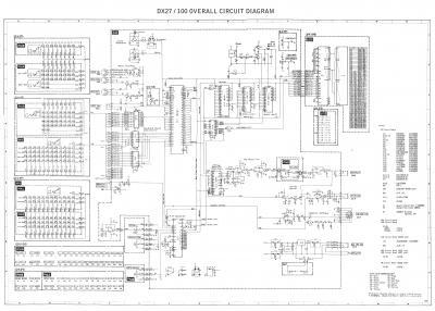 Yamaha DX27 no encuentro el esquema : Sintetizadores
