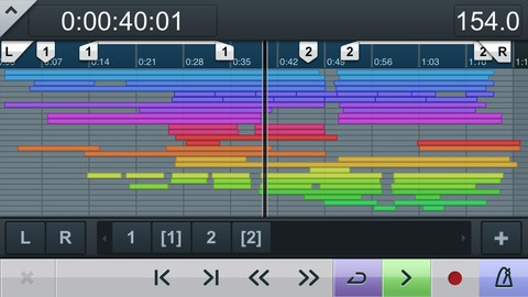 Cubase iC Pro iPhone