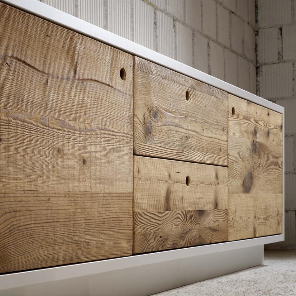 credenze e tavoli in vero legno massello su misura