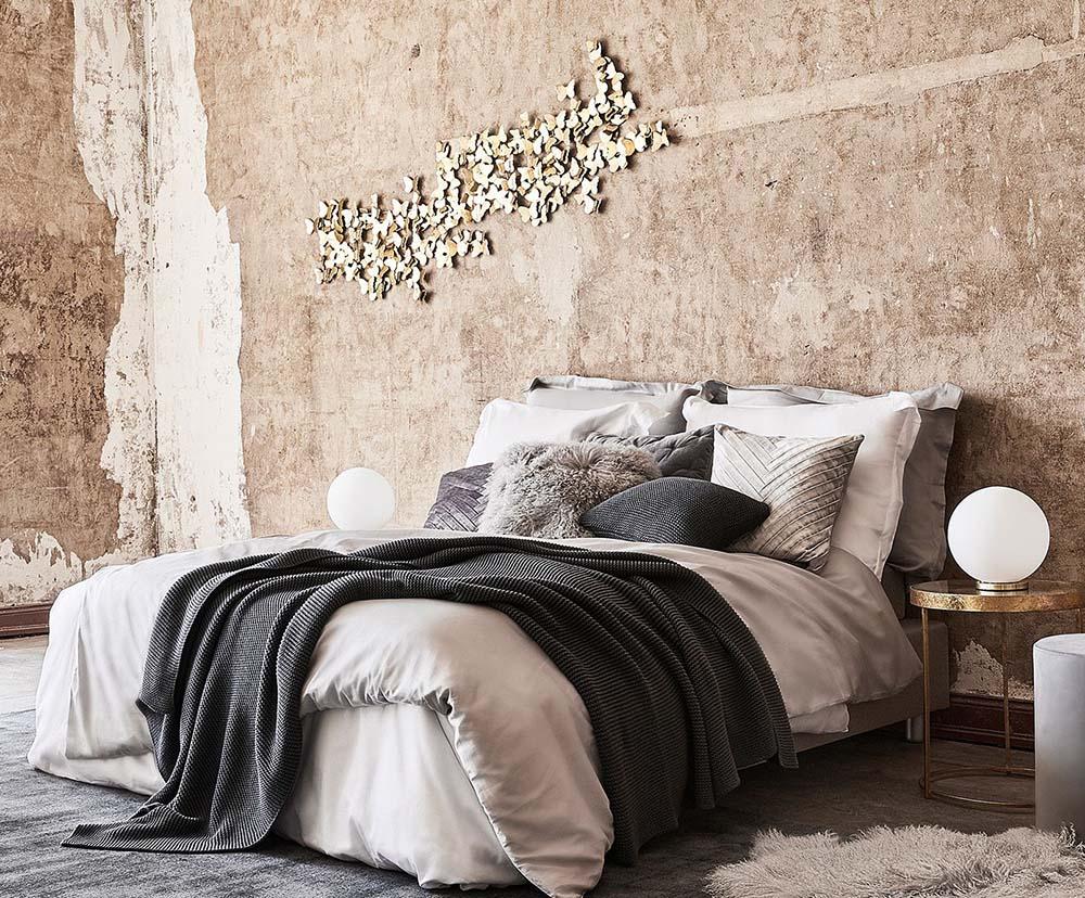 Scegli un bel copriletto che riprenda i colori delle pareti oppure degli. 6 Idee Per Arredare Le Pareti Della Vostra Casa