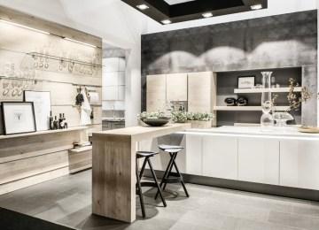 Cucina Rovere Bianco | Gold Edition Cucina Rovere Bianco Febal ...