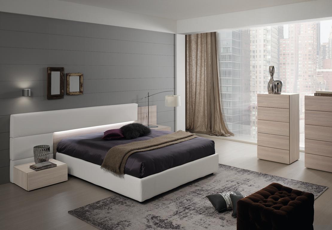 Camera da letto matrimoniale dal design moderno. Camere E Camerette