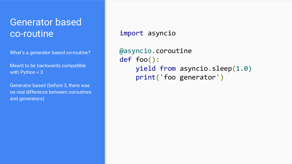 Asynchronous Python with gevent and asyncIO - Speaker Deck