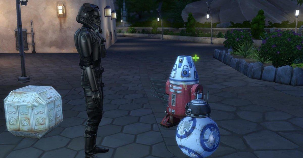 Comment faire : Sims 4 Star Wars: construisez et contrôlez des droïdes – c'est ainsi que cela fonctionne