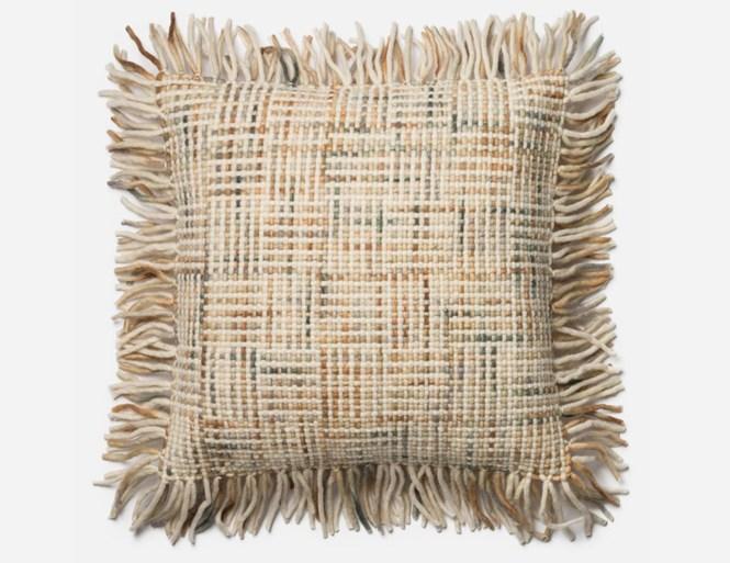 Thro By Marlo Lorenz Dean Fringe Pillow Decorative Pillows At Hayneedle