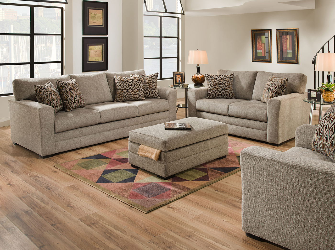living room outlet curtain ideas black furniture steinhafels harris sofa