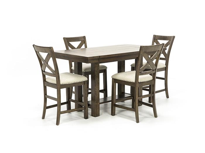 willowbrook 5pc counter height dining set steinhafels
