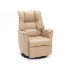 Office Chair Footrest High End Chairs Verona Small Power Swivel Glider Recliner | Steinhafels