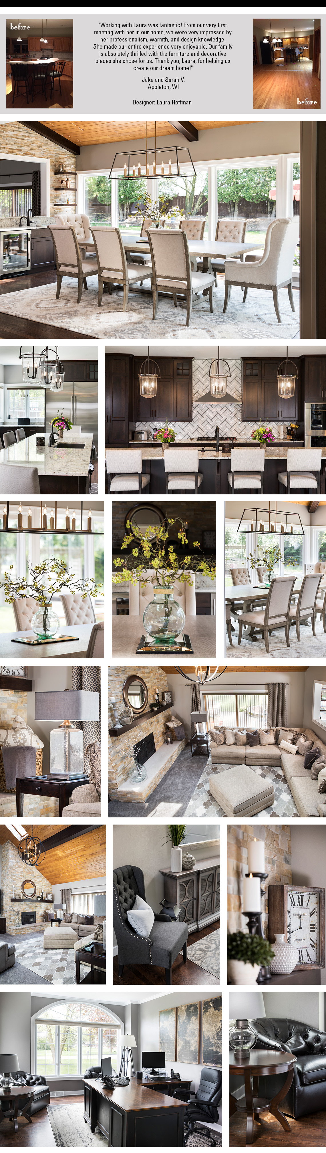 Decorating Solutions  Before  Afters  Steinhafels