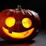 Image Of Illuminated Cute Halloween Pumpkin Stocky 1 Gifs Images Free Trial