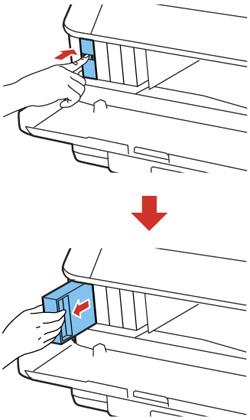 Retrait et installation de cartouches d'encre