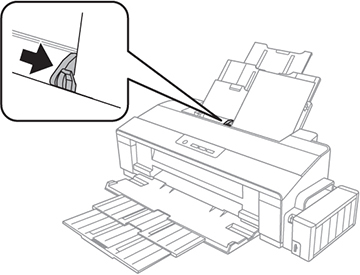 Carregamento de papel na impressora