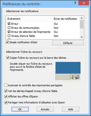 Telecharger Pilote Epson Xp 245 Windows 10 : telecharger, pilote, epson, windows, Vérification, L'état, Cartouches, Windows