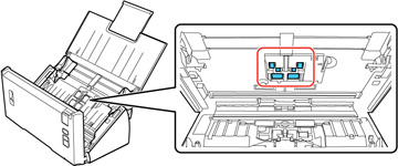 Cleaning Inside Your Scanner