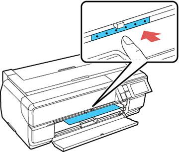 Cómo cargar cartulina y papel grueso