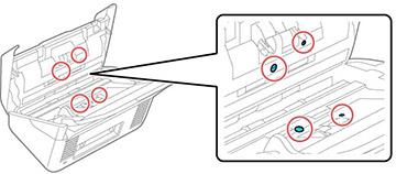 Nettoyage de l'intérieur de votre scanner