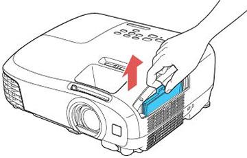 Epson EX7220 air filter