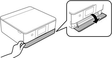 Epson Xp 640 Open The Output Tray Manually