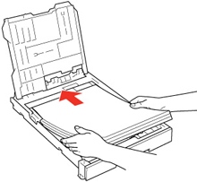 Loading Paper in the Main Tray
