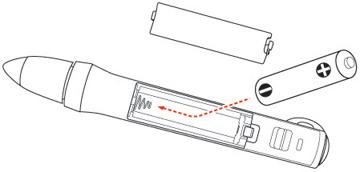 Replacing the Pen Batteries