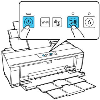 Execução da verificação da impressora