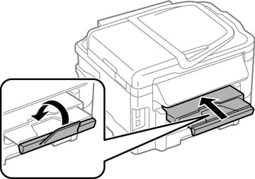 Loading Paper for Documents in the Cassette