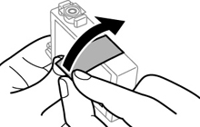 Removing and Installing Ink Cartridges