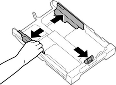 Loading Envelopes in the Cassette