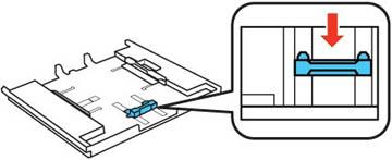 Chargement de papier dans le bac 1 (bac supérieur)