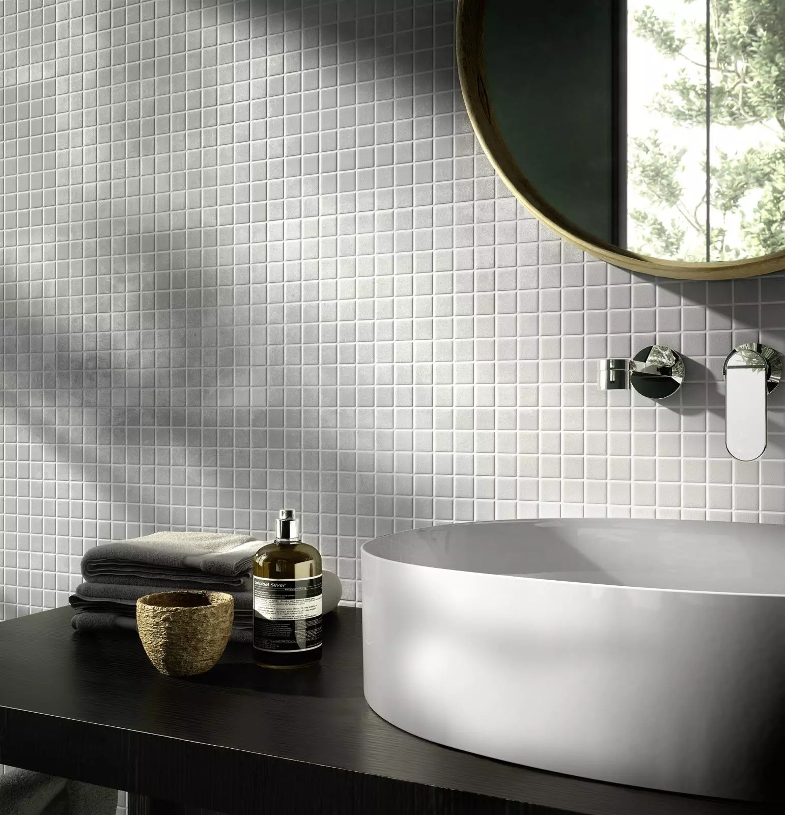 Piastrella bianca cucina rivestimento bagno bianco lucido