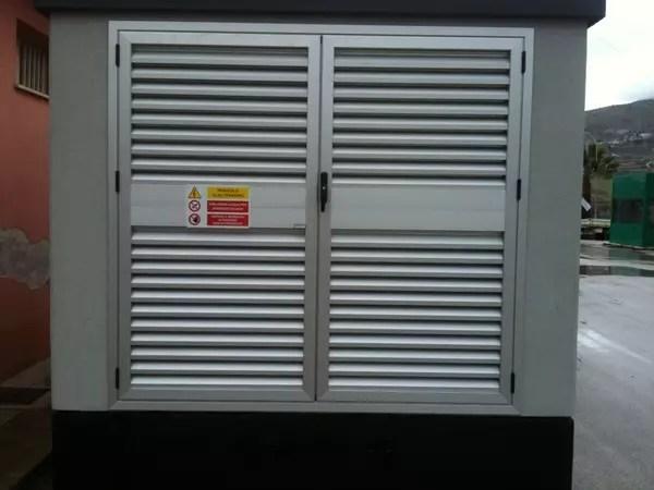 Porte  Finestre Alluminio per Cabine Elettriche