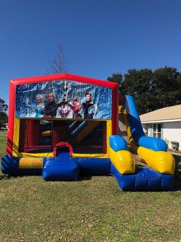 Fun Jumps Lafayette La : jumps, lafayette, Frozen, Inflatable, Combo, Party, Rental, Bouncingbuddies.com, Lafayette