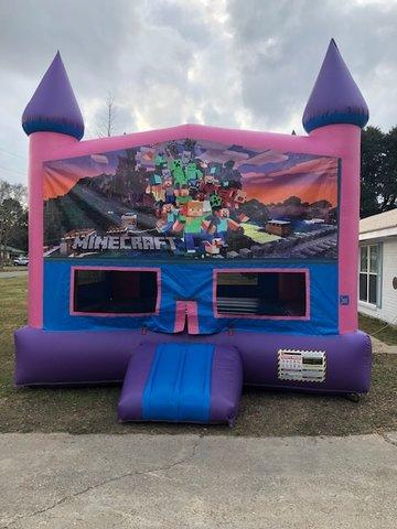 Fun Jumps Lafayette La : jumps, lafayette, Minecraft, Party, Rentals, Lafayette